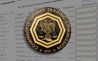 11 июня 2018: Курс криптовалют падает на фоне расследования CFTC