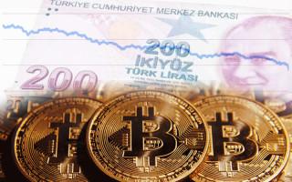 Обвал лиры резко повысил интерес к биткоину в Турции