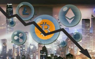 Рыночная капитализация криптовалют уменьшилась в два раза за месяц