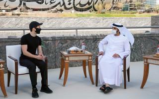 Павел Дуров встретился с шейхом Дубая Хамданомбин Мохаммедом