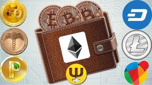 Мультивалютный криптовалютный кошелек