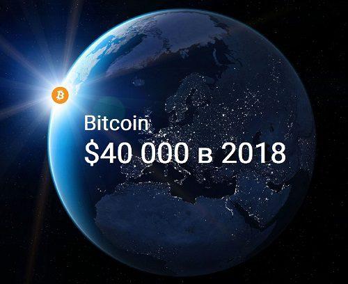 Прогноз курса BTC 40000 долларов