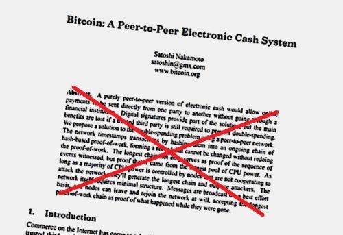 White Papper Bitcoin Satoshi