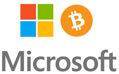 Microsoft и биткоины