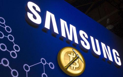 Samsung принимает платежи за криптовалюты