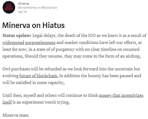 Minerva Status