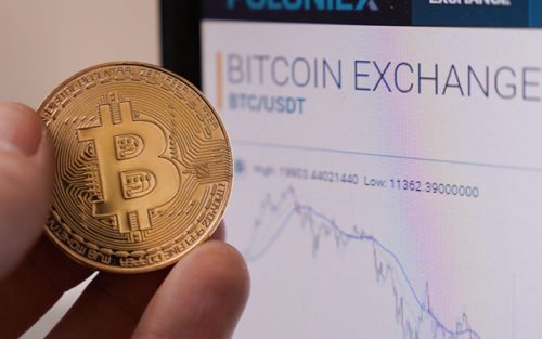 Падение цены на биткоин