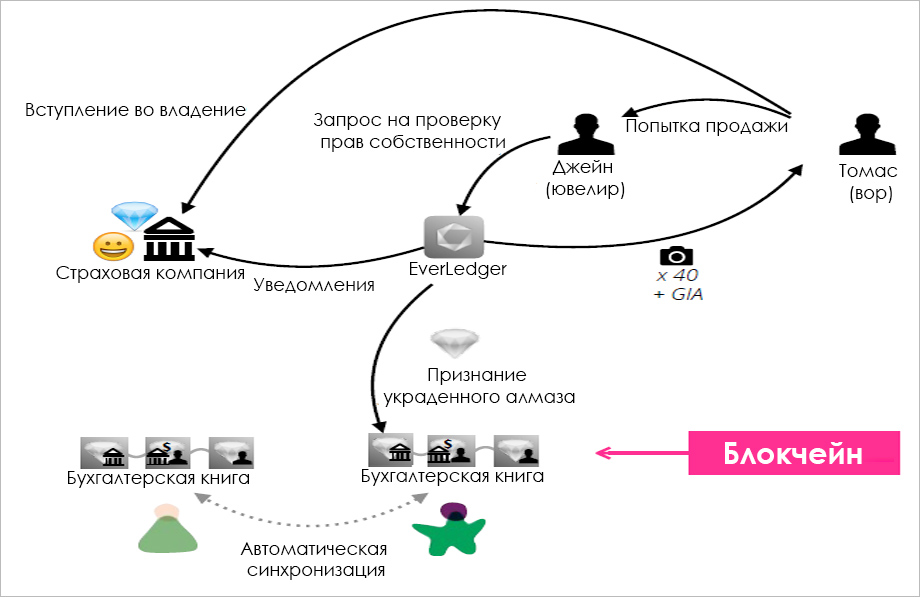 Работа EverLedger
