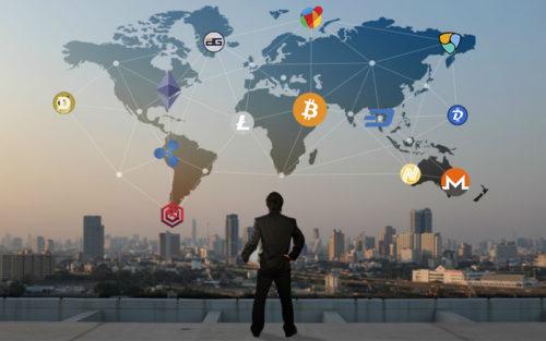 Распространение криптовалюты