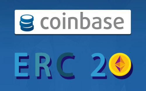 Биржа Coinbase и токены стандарта ERC20