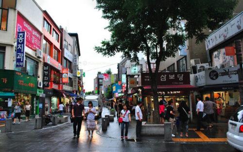 Магазины Южной Кореи