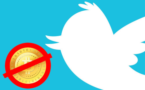 Реклама криптовалют в Twitter