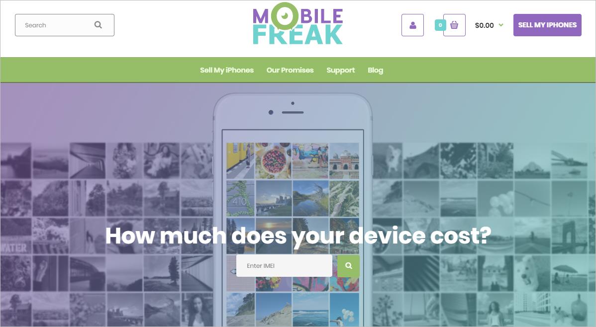 Сайт Mobile Freak