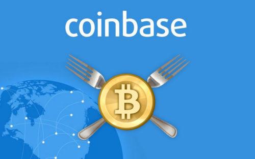 Coinbase и форки биткоина