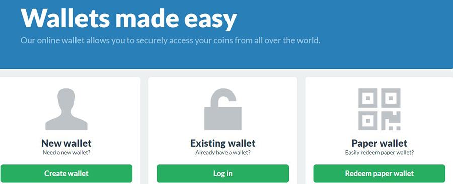 Create Wallet