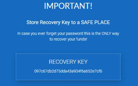 Код для восстановления