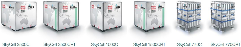 Модели контейнеров от SkyCells