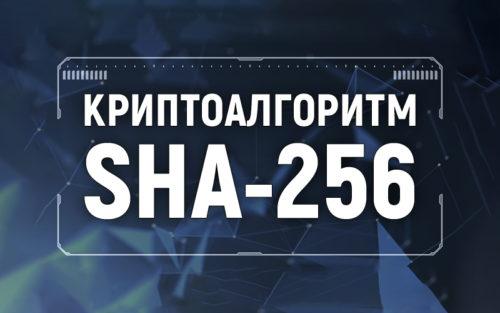 Алгоритм SHA 256