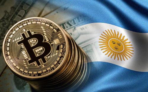 Биткоины в Аргентине