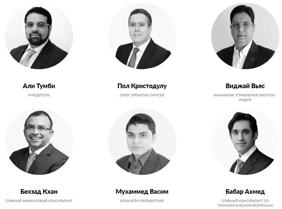Команда Global Reit