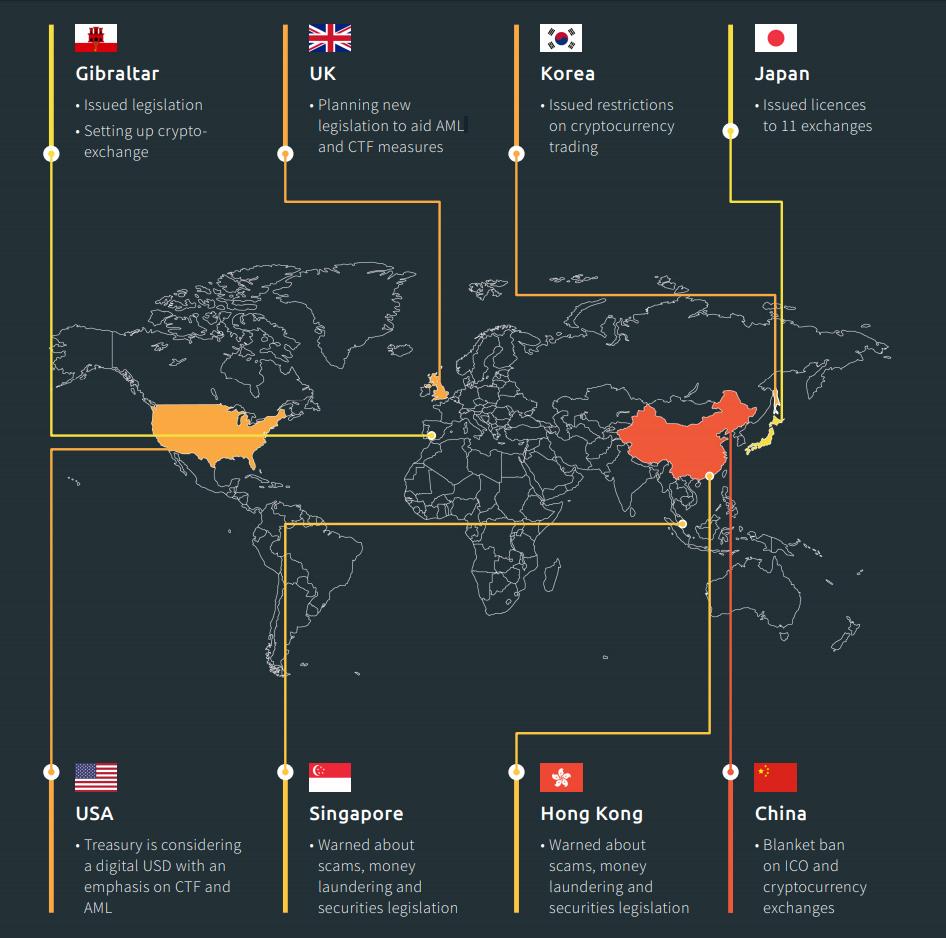Криптовалюты в мире
