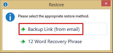 Способы восстановления