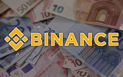 Евро на Binance