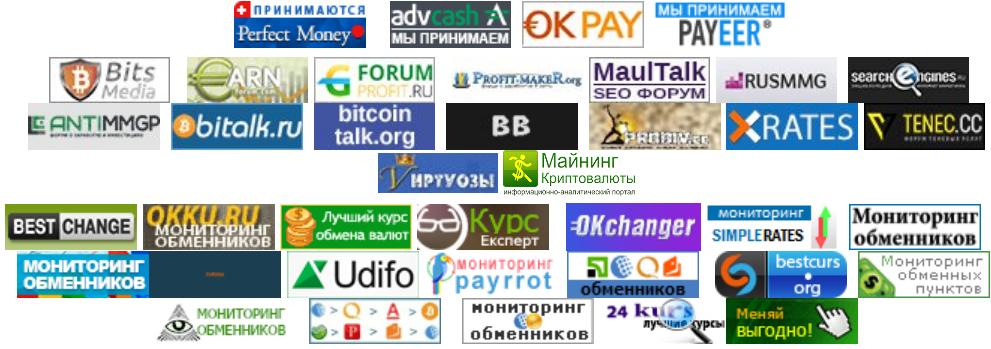 Список сайтов