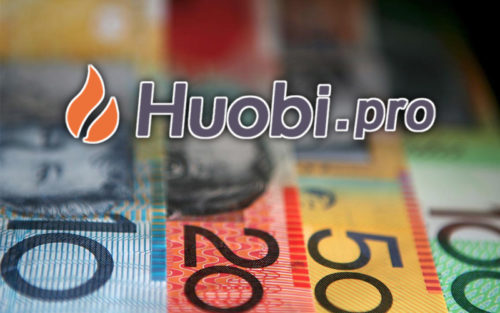Huobi Pro и австралийский доллар
