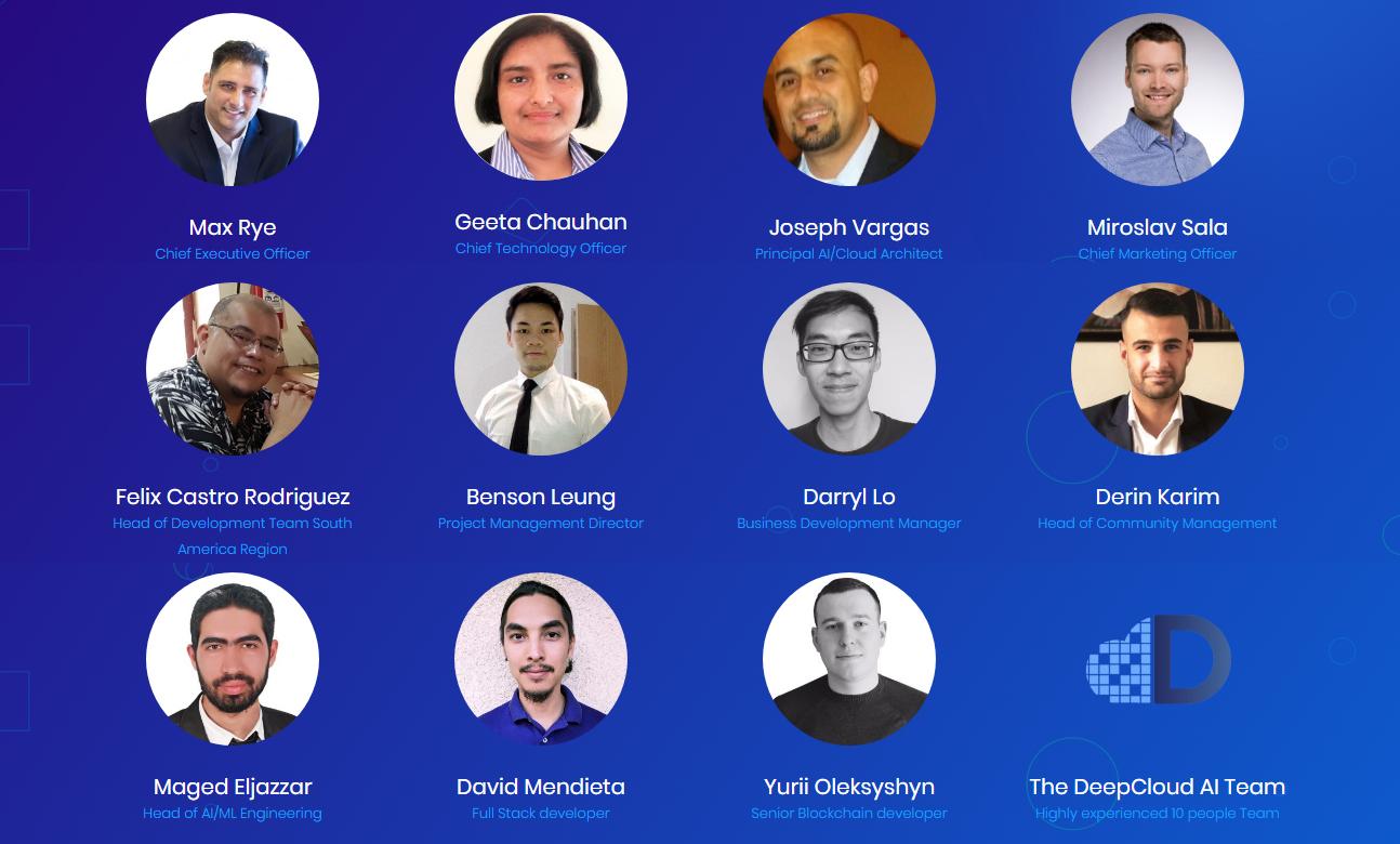 Команда DeepCloud AI