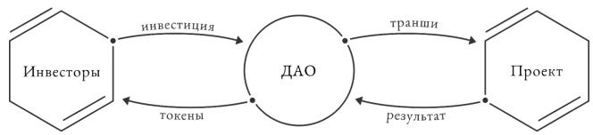 Концепция работы Daox-организации