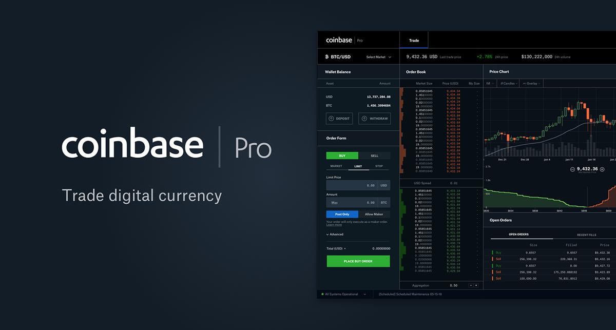 Площадка Coinbase Pro