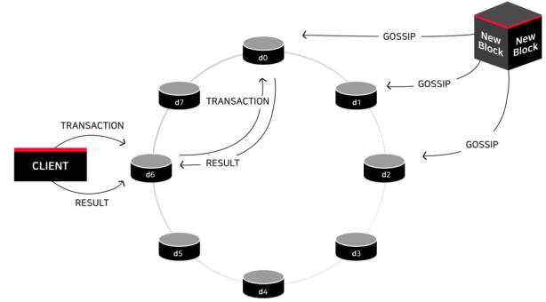 Сериализация уровня канала в цепочке AERGO
