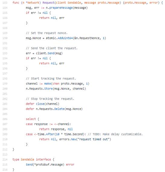 Запрос-ответ с использованием Protobuf