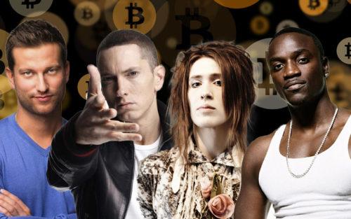 Звезды и криптовалюты