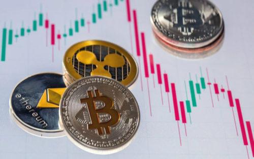 Падение курса криптовалют