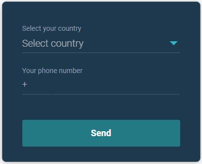 Добавление номера телефона