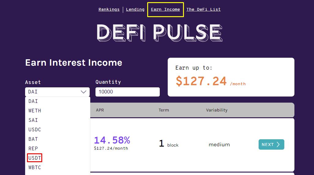 Earn Income