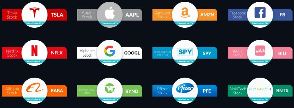 Акции от крупных компаний