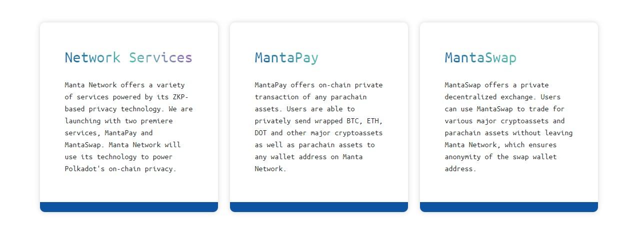 MantaPay и MantaSwap